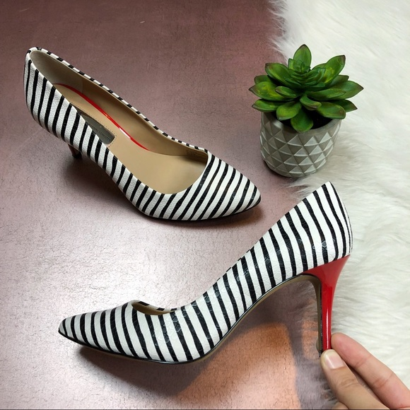 7de31134c8d INC International Concepts Shoes - INC International Concepts Zebra Print  Red Heels